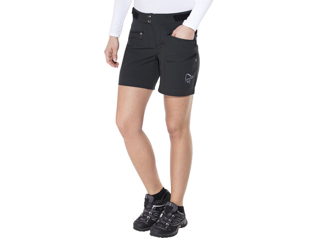 Norrøna Falketind Flex1 Shorts Damen caviar black